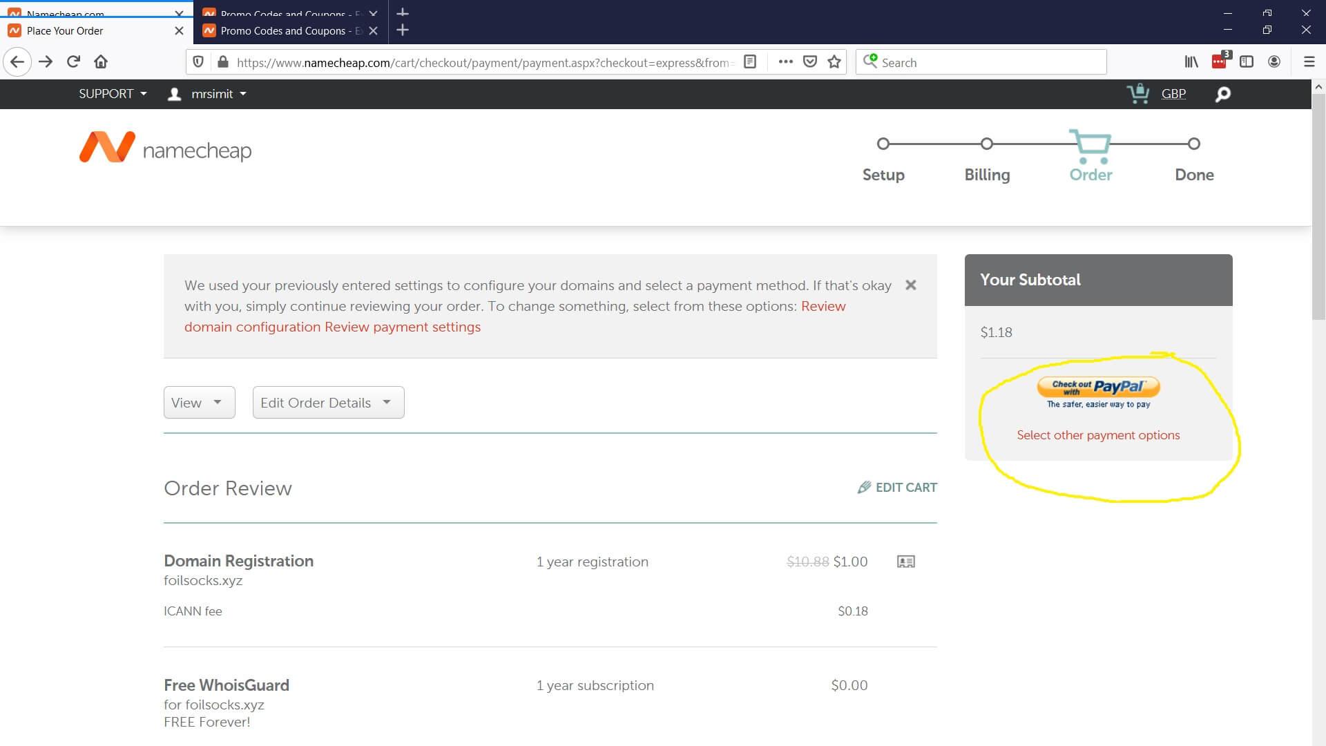 Domain Name Register 7